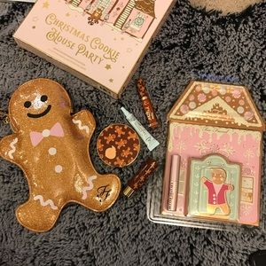 NWT Too Faced Christmas Cookie House Gingerbread
